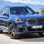 BMW X3 新型 ディーゼル、ハイブリッドも!日本発売決定!価格は650万円弱~。